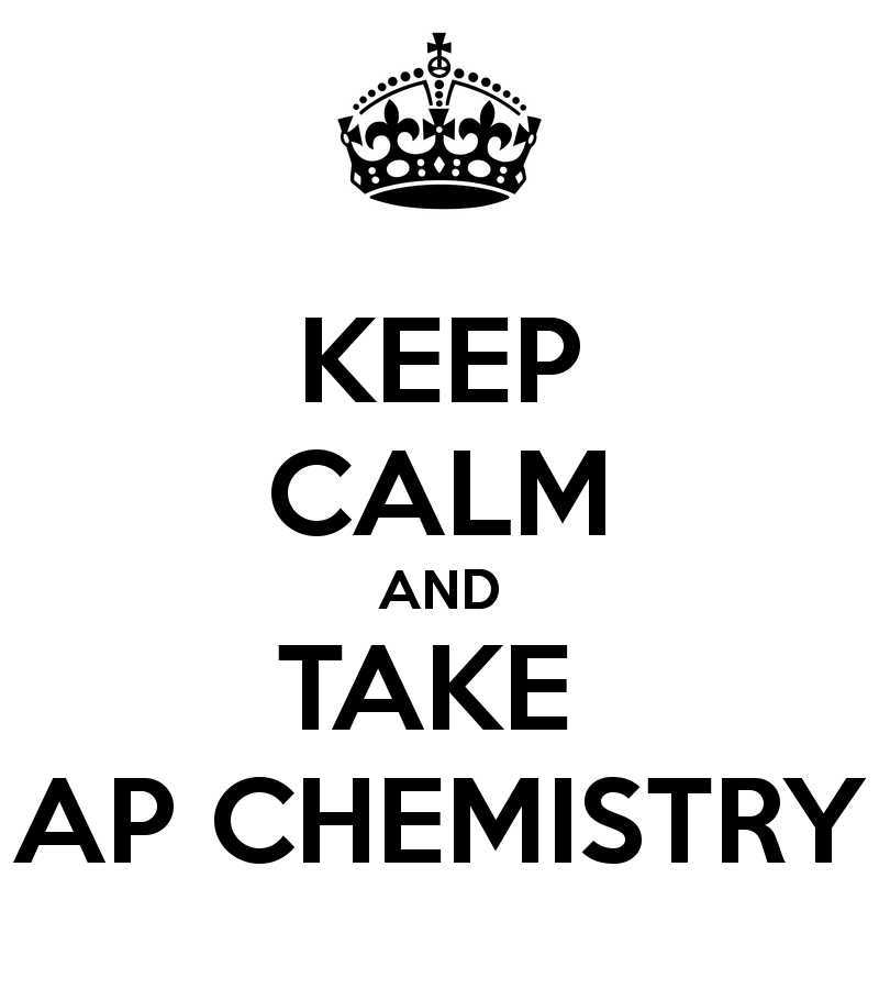 Image result for keep calm and take ap chem