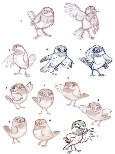 Photo of 16 Ideas For Bird Cartoon Character Design