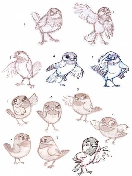 Photo of 16 Ideas For Bird Cartoon Character Design