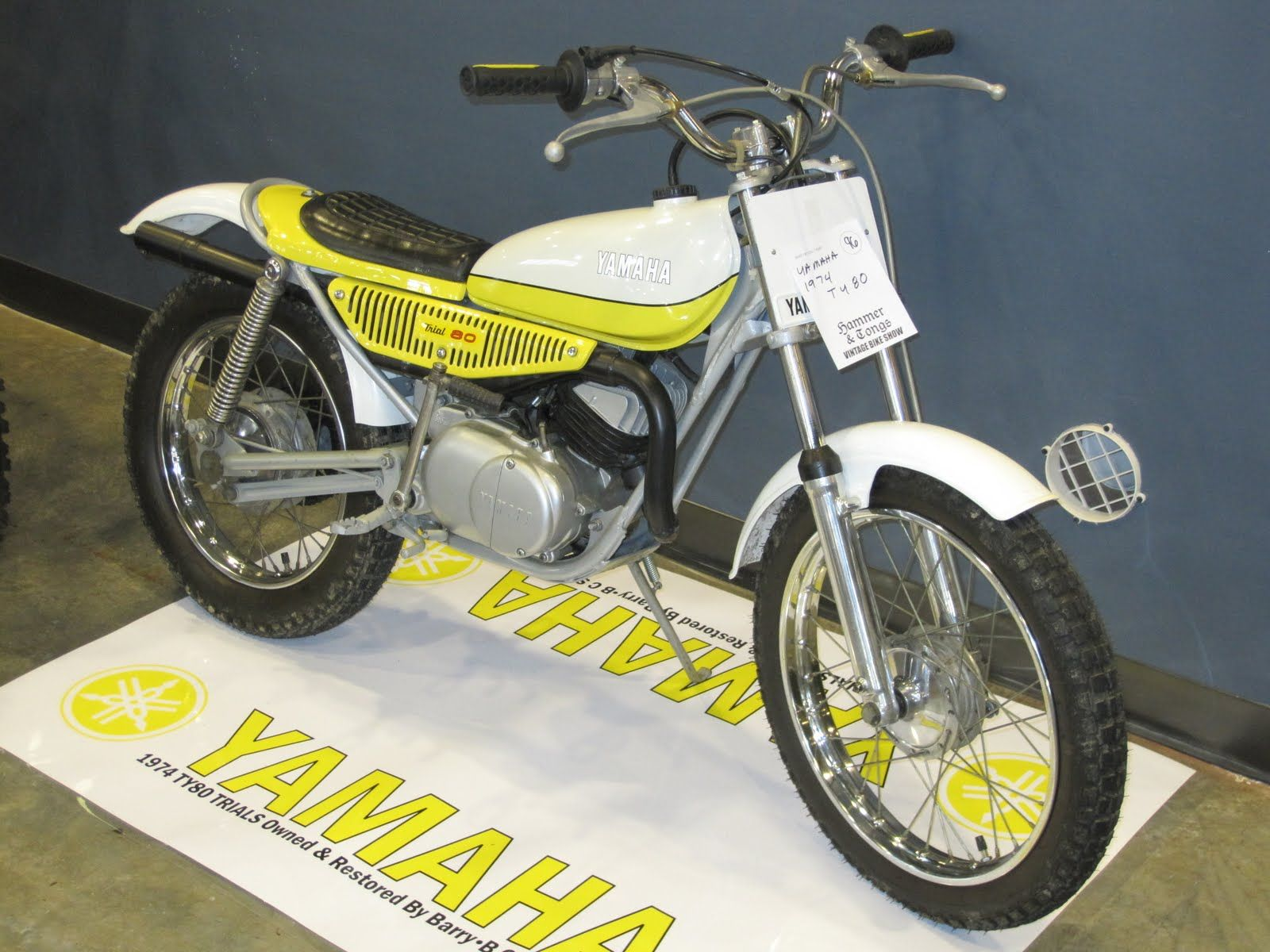 My First Real Motorcycle 80cc Yamaha Trials Motorcycle Vintage Motorcycle Vintage Motocross