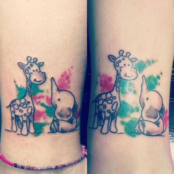 40 Best Giraffe Tattoo Ideas Collection At Display Tattoos