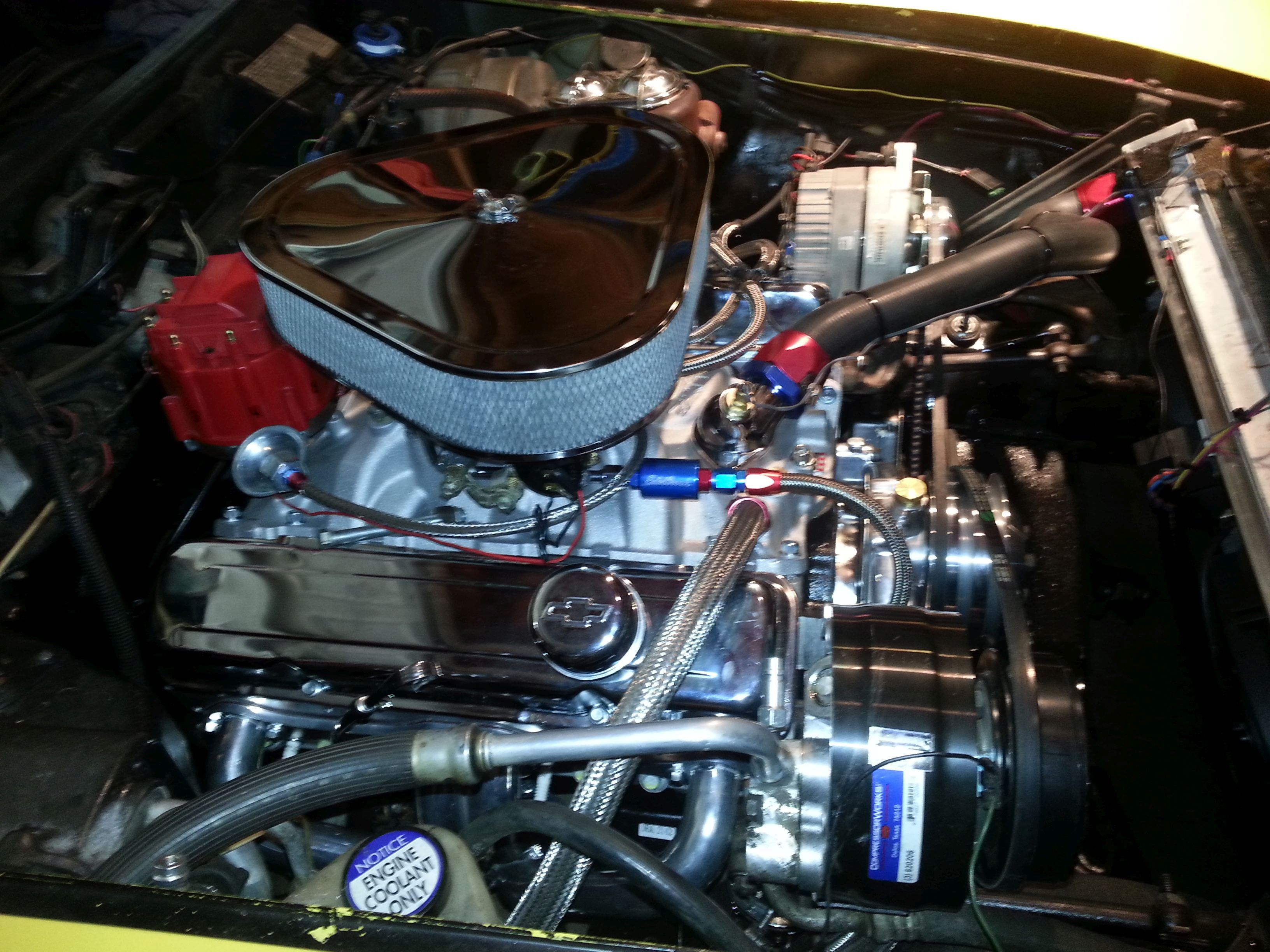 With 350 Chevy Engine Fuel Pump On 1979 Corvette Engine Diagram