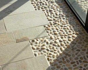 Outdoor Flooring With Pebbles Ceramic Floor Tiles Ceramic Floor
