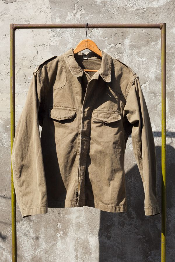47 French Style Living Room Design Ideas: 【VINTAGE ITEM】60'S FRENCH ARMY M-47 SHIRTS -SLOW&STEADY