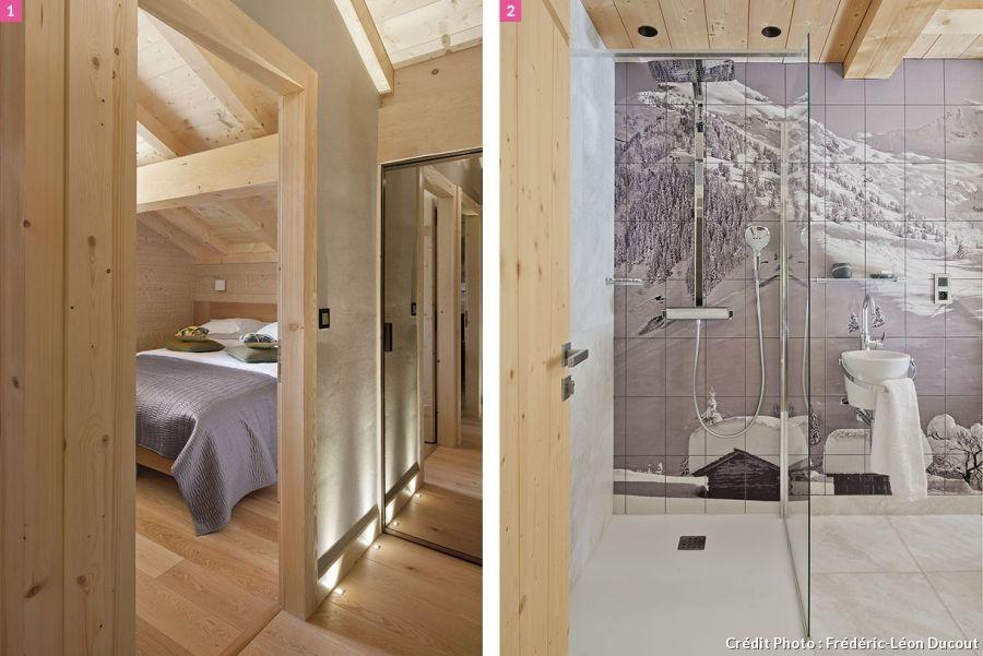 L\'Inarpa, un chalet revisité | Chalet, Photos de salle de bains et ...