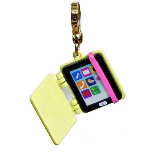 Amazon.com: Juicy Couture - Yellow Electronic Tablet / E-Reader - Gold Plated Charm: Jewelry