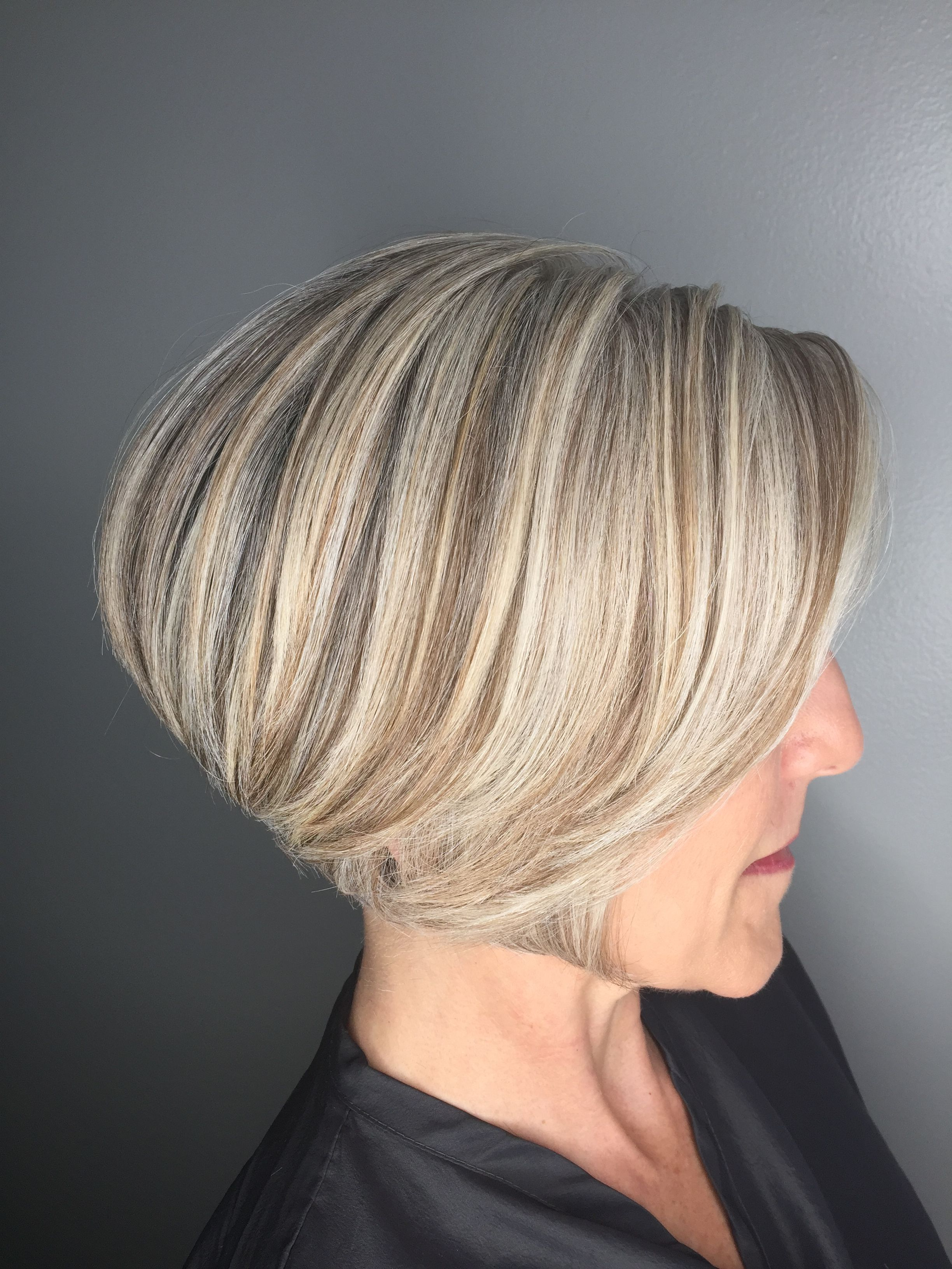 40++ Natural grey hair with highlights and lowlights trends