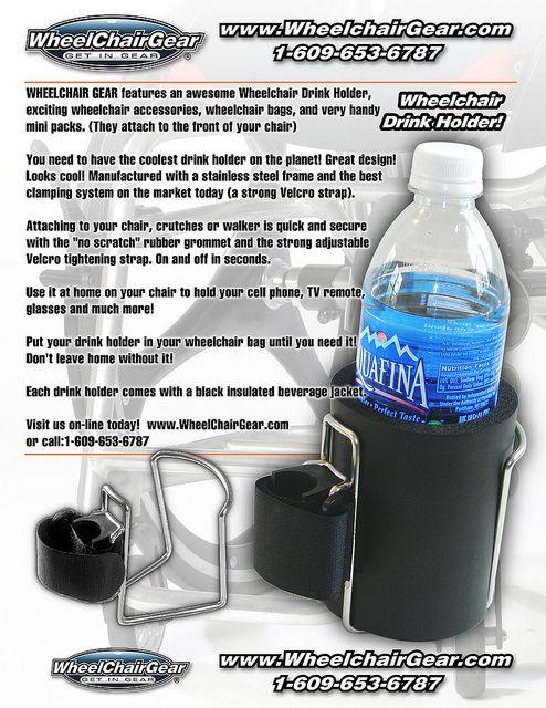 Wheelchair Bottle Holder Wheelchair Accessories Wheelchair Bags More Wheelchair Accessories Wheelchair Wheelchair Bags