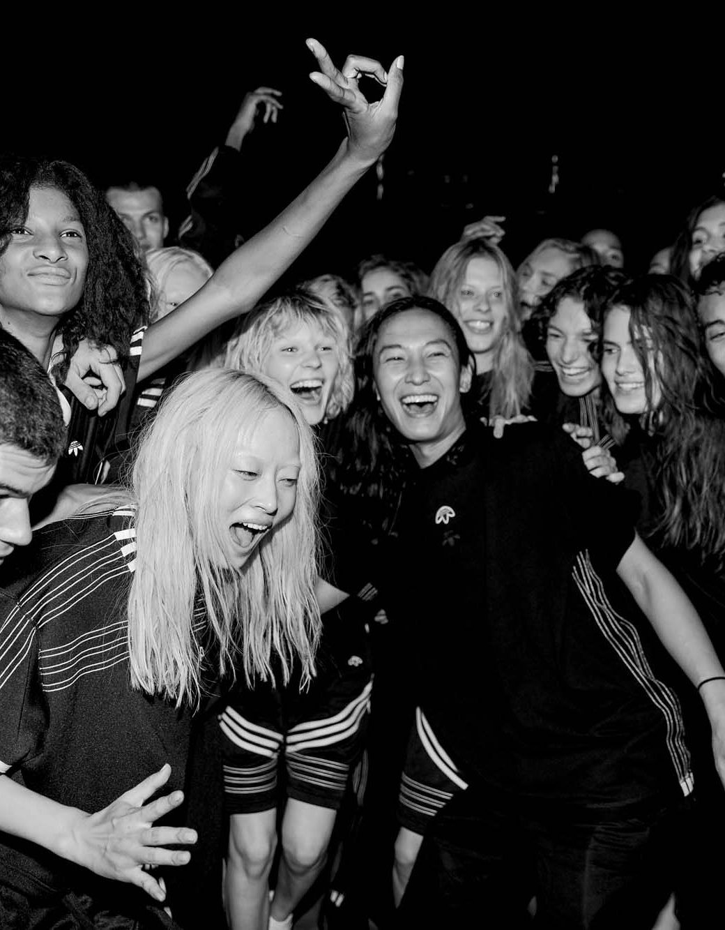 Behind the scenes at Alexander Wang during New York Fashion Week. Photographed by Kevin Tachman.