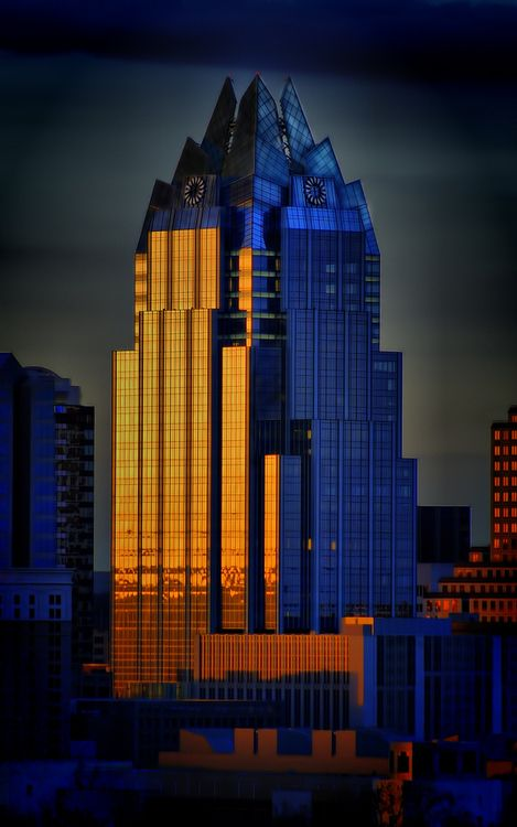 AMADION, The Frost Bank Building in Downtown Austin pretty...