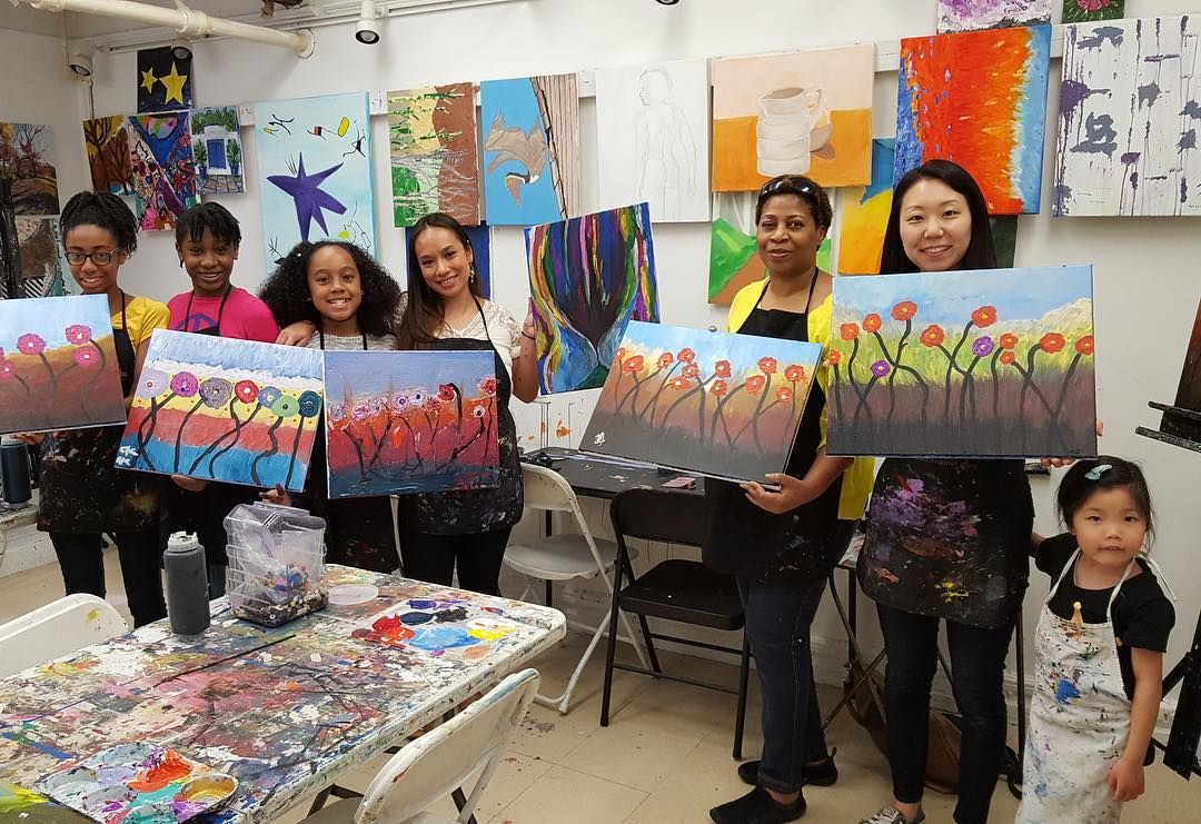 New York City Painting Classes Paris Painting Eiffel Tower