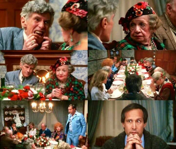Grace She Passed Away 30 Years Ago They Want You To Say Grace The Bles Christmas Vacation Christmas Vacation Movie National Lampoons Christmas Vacation