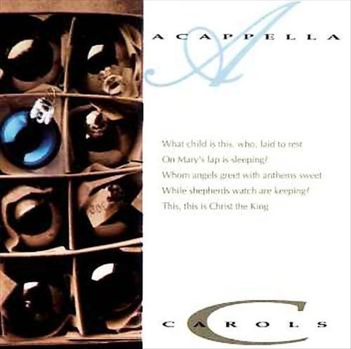 Acappella Carols The Series Christmas 1990 Cd *New Word Diamante Christian CCM  #Christmas