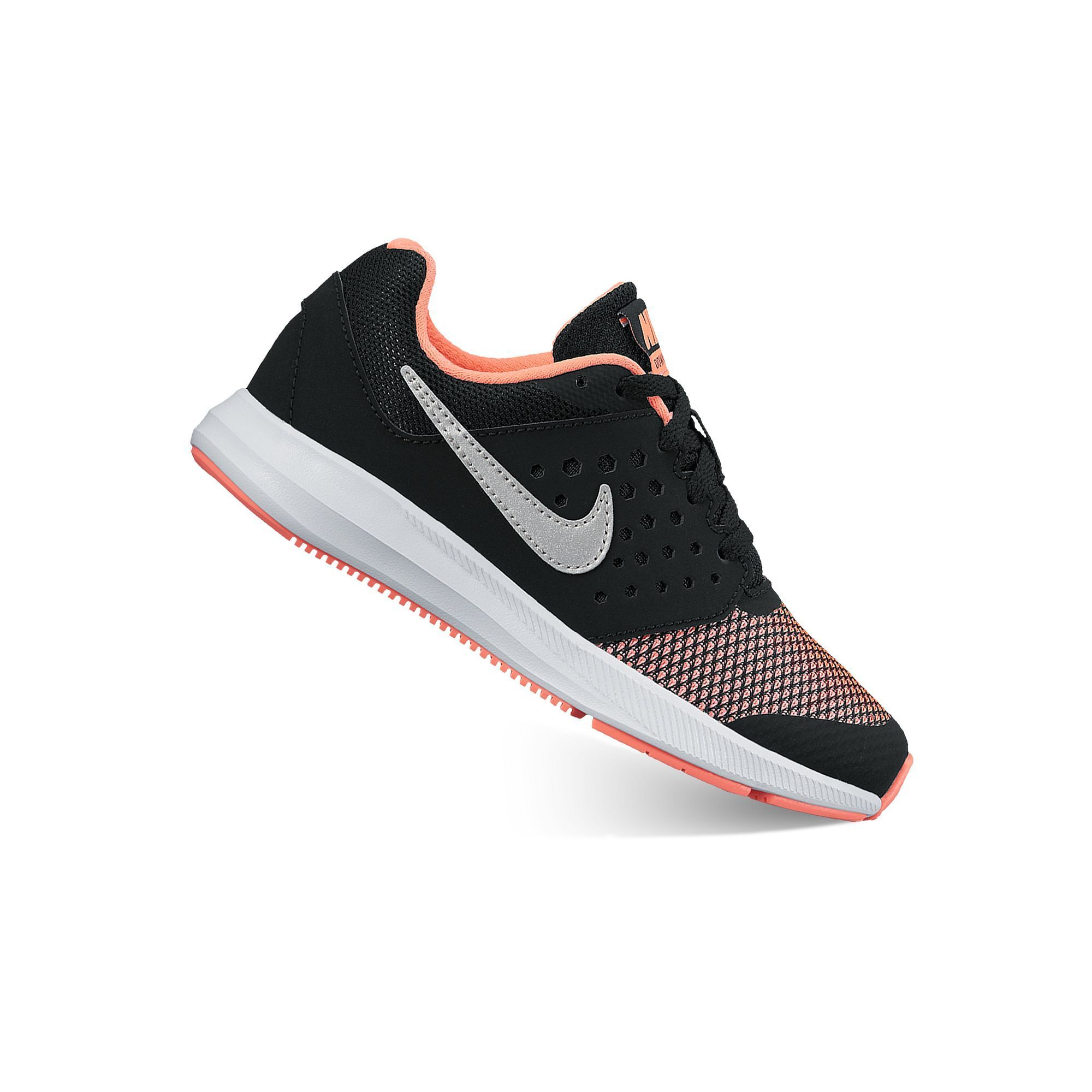 wholesale dealer 81622 c7510 Nike Downshifter 7 Preschool Girls  Lace-Up Shoes, Size  11, Black