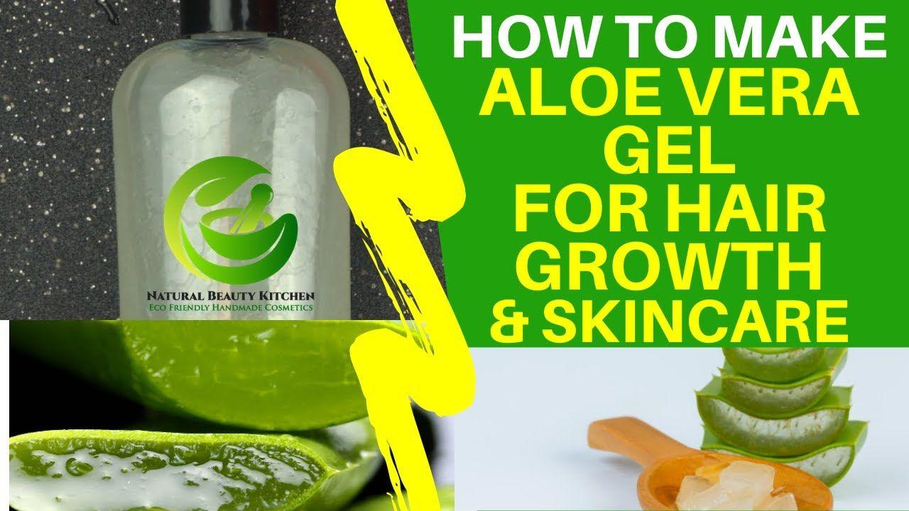 Pin By Naijagists Blog On Natural Organic Skin Care Diy Projects In 2020 Diy Aloe Vera Gel Aloe Vera Gel For Hair Growth Organic Skin Care Diy