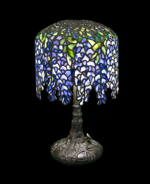 Tiffany Studios Pony Wisteria Table Lamp Lamp Tiffany Lamps Antique Stain