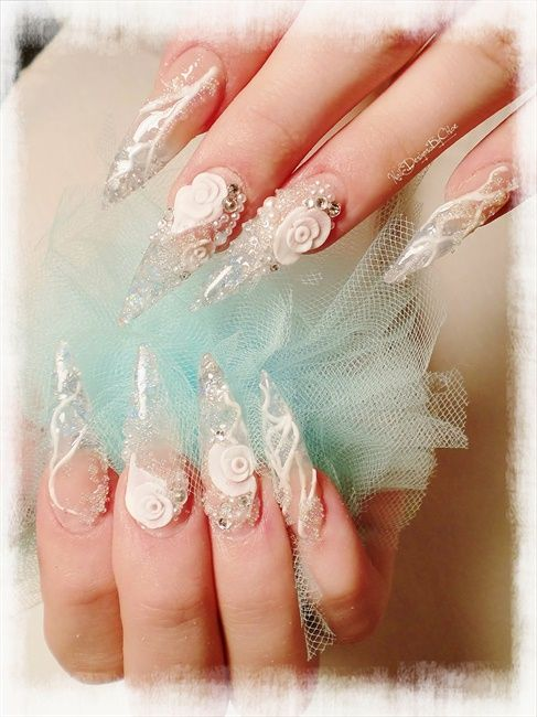 Ice Queen 2 - Nail Art Gallery | Nailed to the Extreme ! | Pinterest ...
