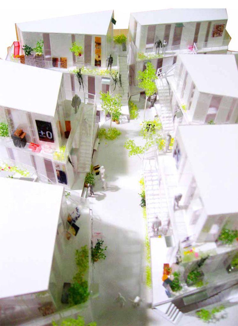 Sarugaku akihisa hirata architecture architektur modell und geb ude - Japanische innenarchitektur ...