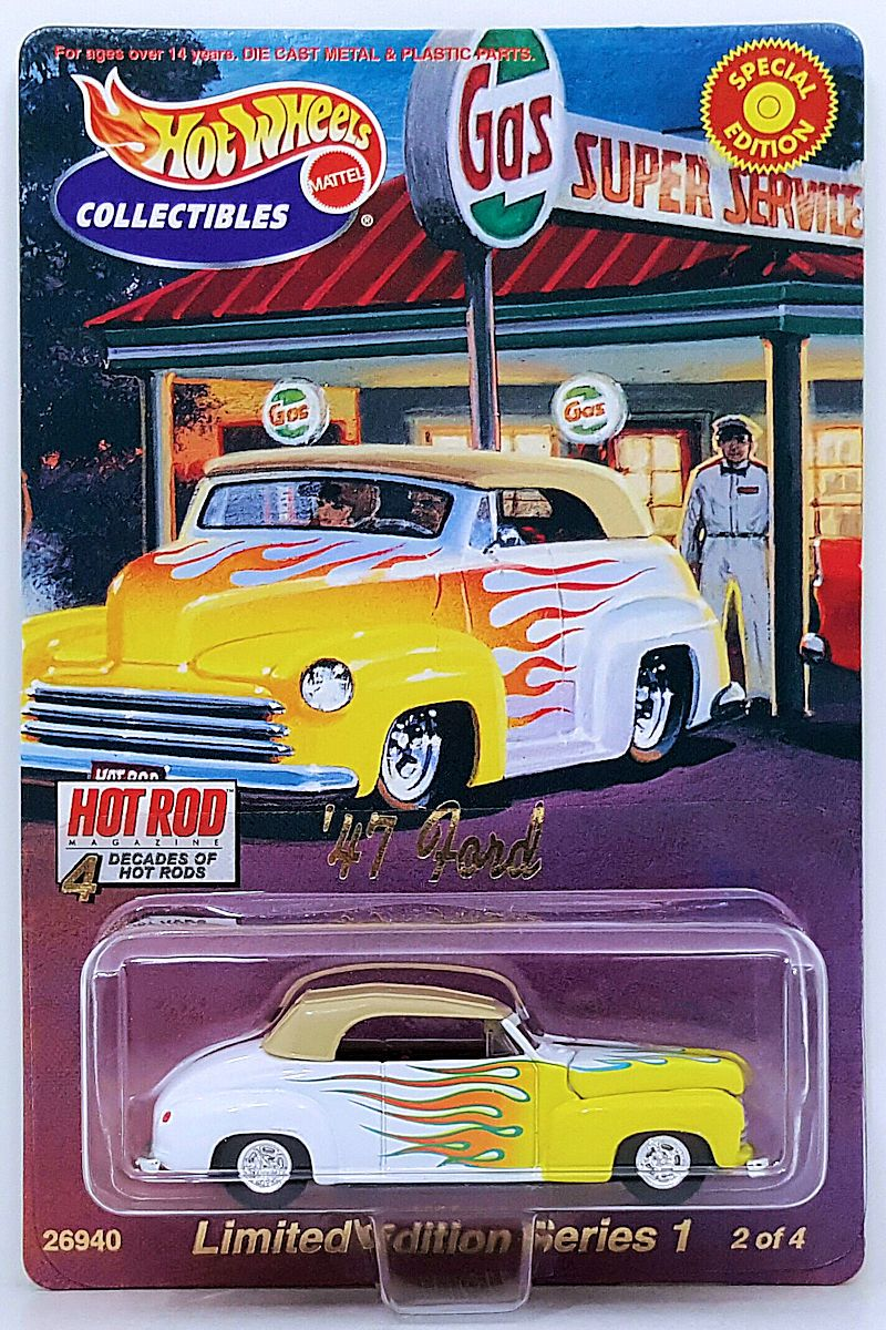47 Ford 2 4 Art Cars Series 1 4 Decades Of Hot Rods Hot