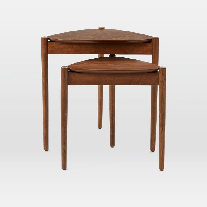 Side Tables For Less Than Tripod Tables And Living Rooms - West elm tripod side table