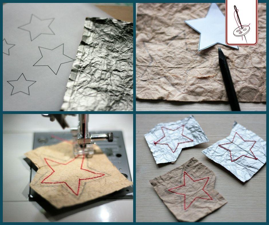 So machst Du nähbares Papier ganz einfach selbst – meine Upcycling-Projekte mit Tetrapacks | Von Lange Hand #flowerfabric
