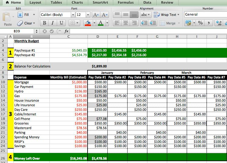 budget excel templates free sample xlsx budgeting archives debt life