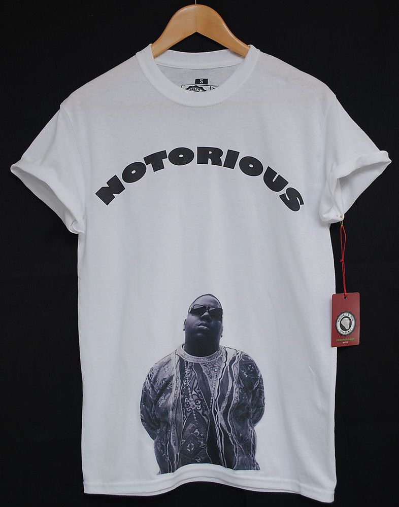 105a71ea4 Details about BROOKLYN ZOO BIGGIE B.I.G NOTORIOUS HIP HOP TEE T ...