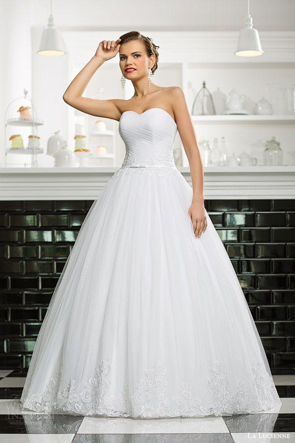 La Lucienne 2015 Wedding Dresses Luxury Bridal Collection