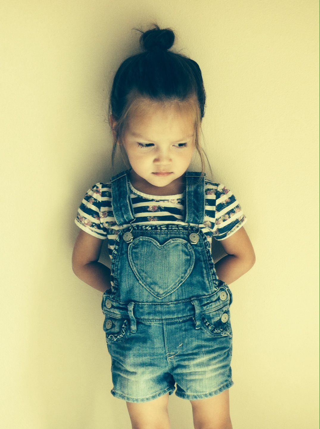 Girls Trendy Classic Overall Shorts Little Fashionista Girly