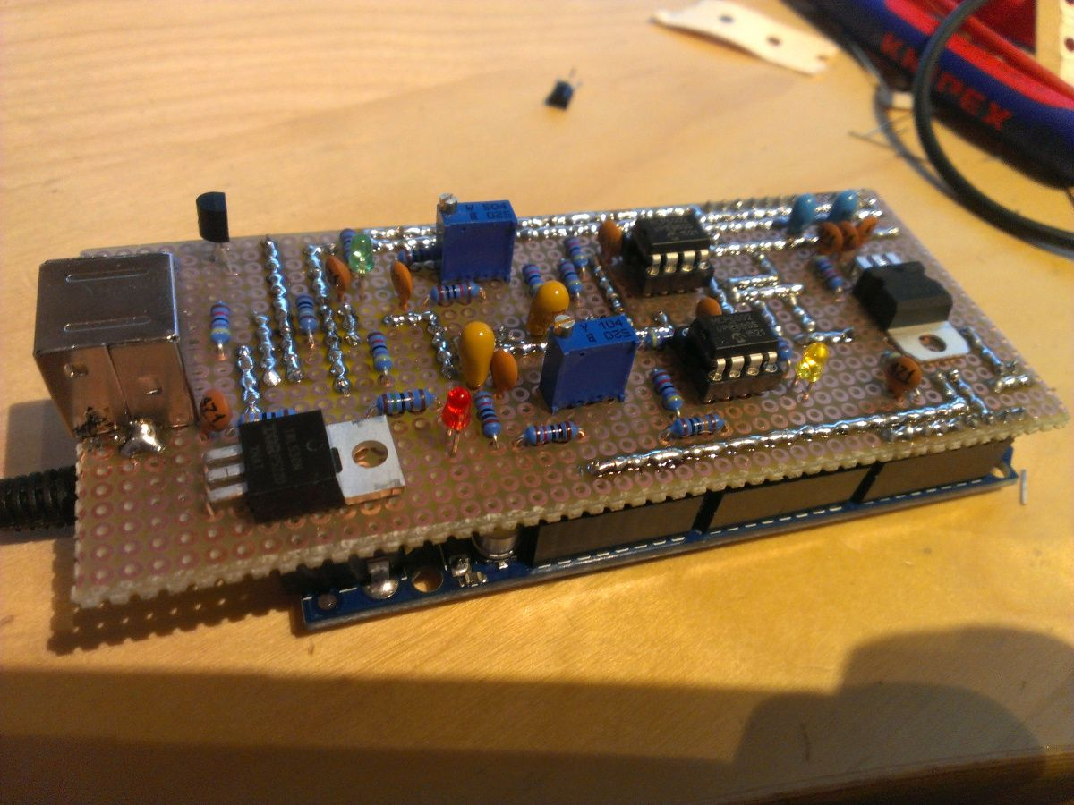 Click for larger view of Homebrew MMDVM adapter  | casdiy