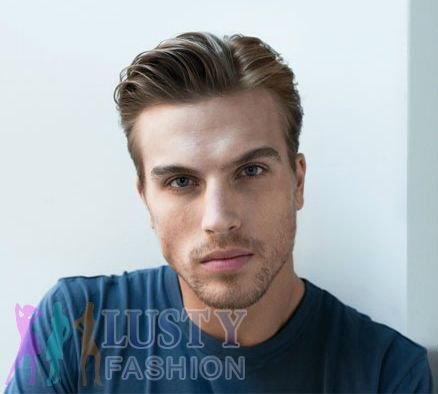 side part hairstyle, side parting hairstyle | Mens hairstyles ...