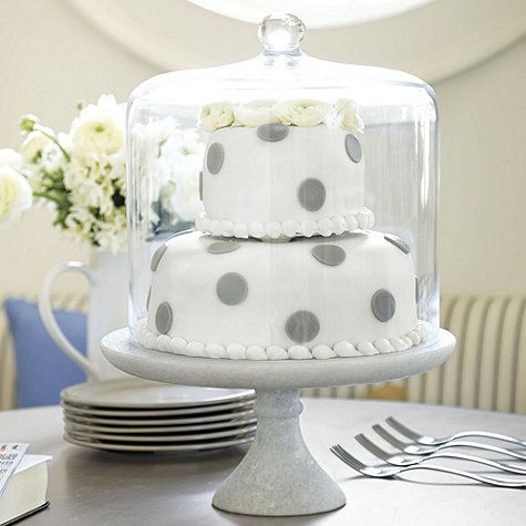 Love this marble cake pedestal and matching tall cake dome (sold and pinned separately) -Marble Cake Plate - Large & Marble Cake Plate - Large | Ballard Designs JUST HAD TO SHOW YOU ...