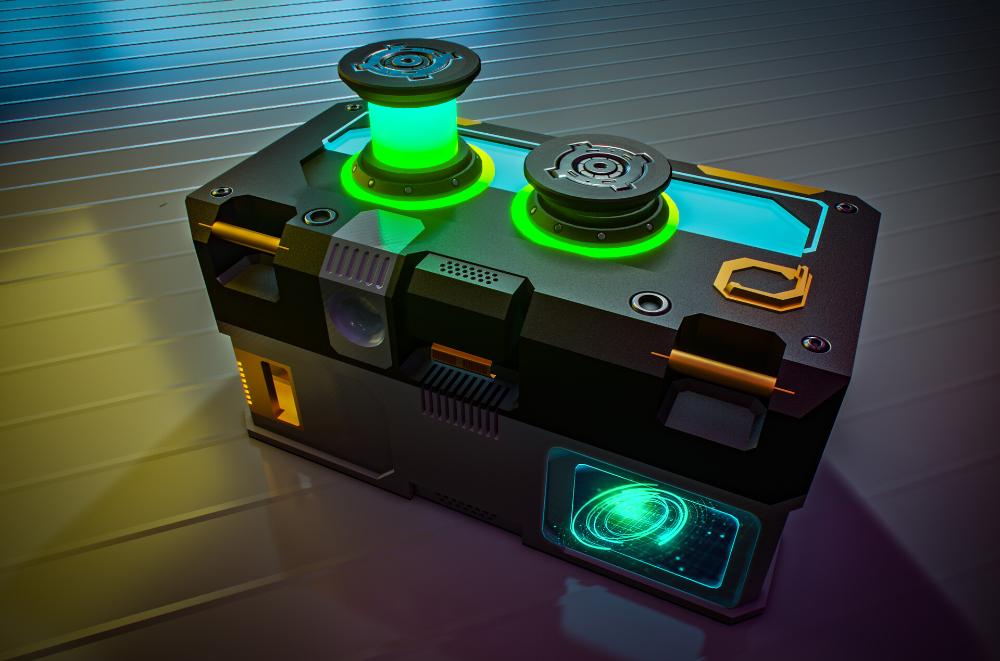 Artstation Loot Box Vu Pham Sci Fi Props Game Item Stark Industries
