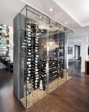 A Passion For Wine Contemporary Wine Cellar Ottawa Design