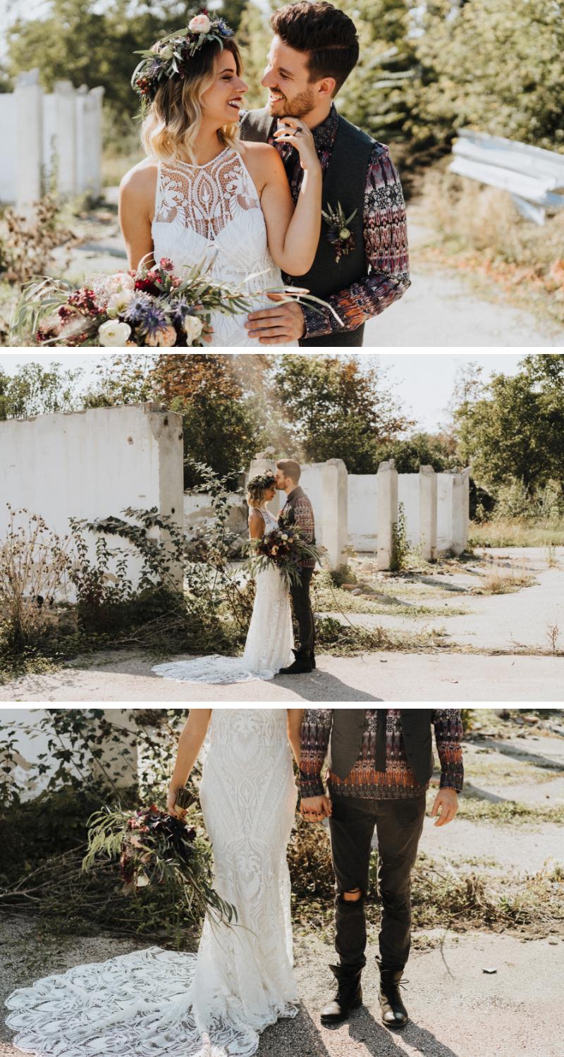 Edgy Love: Rockige Hochzeit im Boho-Trend - Hochzeitskiste