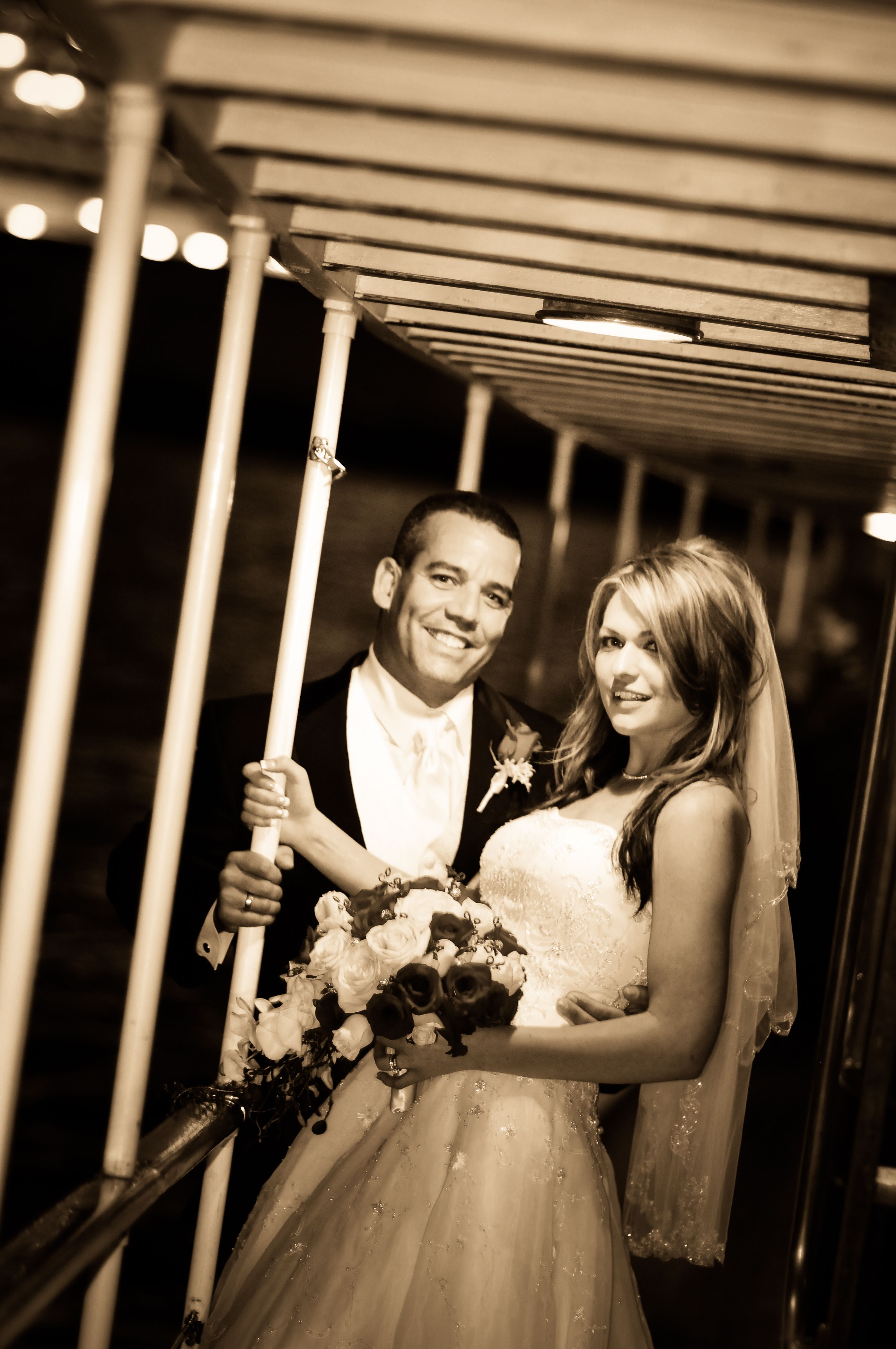 Beautiful Wedding Picture On The High Spirits Yacht Photo Taken By Xavier Bailey Photograophy