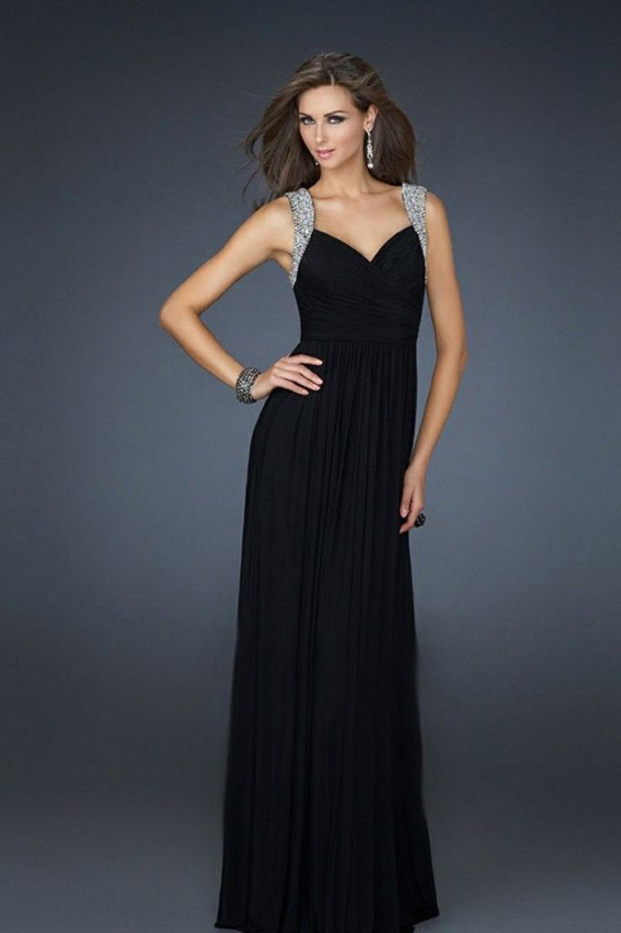 How To Pick A Perfect Black Prom Dress Fabulosity Pinterest