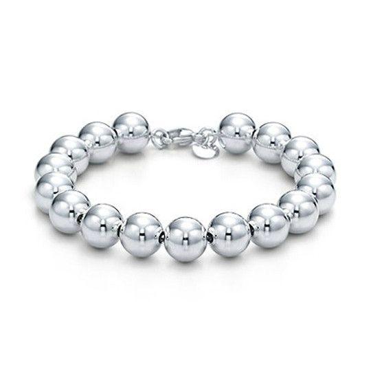 Bold Beads Sterling Silver Bracelet