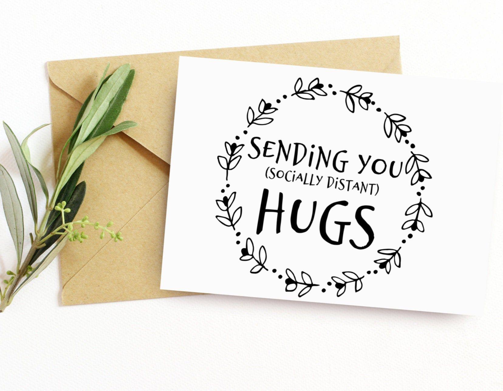 A Big Hug For You Hang Up Metal Wall Plaque Gift Friendship