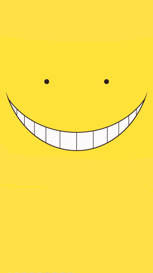 S P I R I T I O N Assassination Classroom Koro Sensei Face Anime Background
