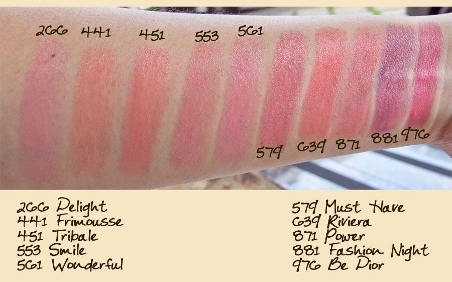 6975c0cc These are Dior Addicts, and they are SHEER lipsticks ...