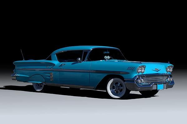 This 1958 Chevrolet Impala has been to several car shows in the Midwest.