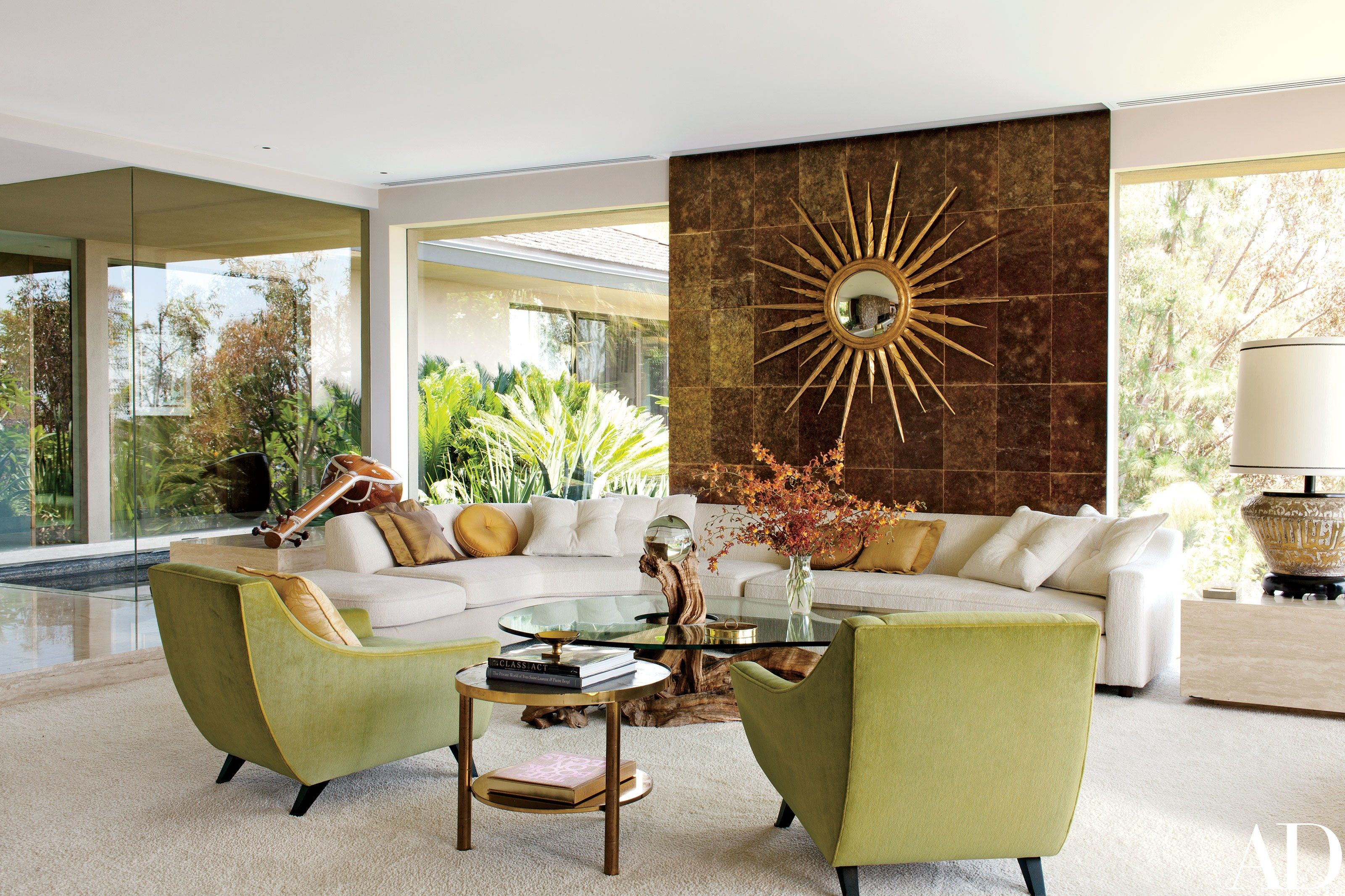 Fashion Photographer Steven Meisel's Midcentury Residence in Los Angeles