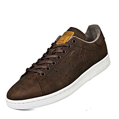 Máquina de recepción espacio pérdida  Adidas Originals Walking Stan Smith Dark Brown Sneakers (... https://www. amazon.com/dp/B076JKWPDC/ref=cm_sw_r_pi_dp_x_HFZaAb… | Brown sneakers,  Sneakers, Dark brown