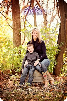 fall mother and son photo ideas - Google Search
