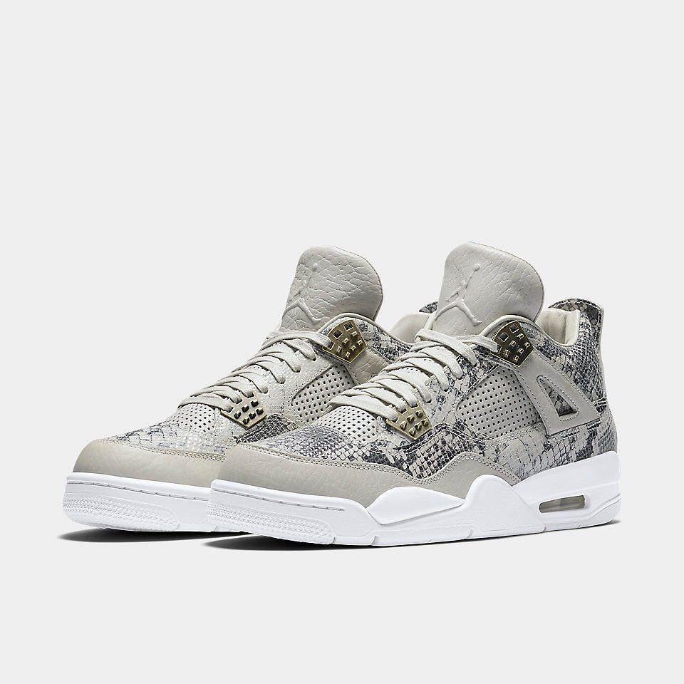"The Nike Air Jordan 4 Premium ""Snakeskin"" is available at kickbackzny.com."
