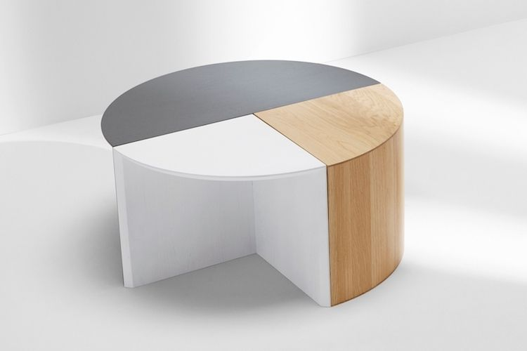 Pie Chart System Marble Furniture Design Modular Furniture Design Modular Table