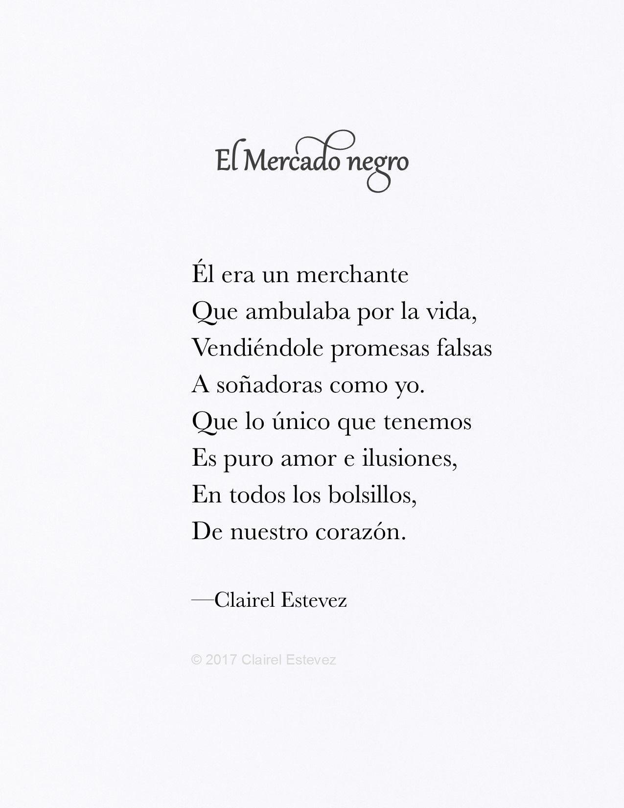 Poema de amor Por Clairel Estevez es Instagram clairelestevez