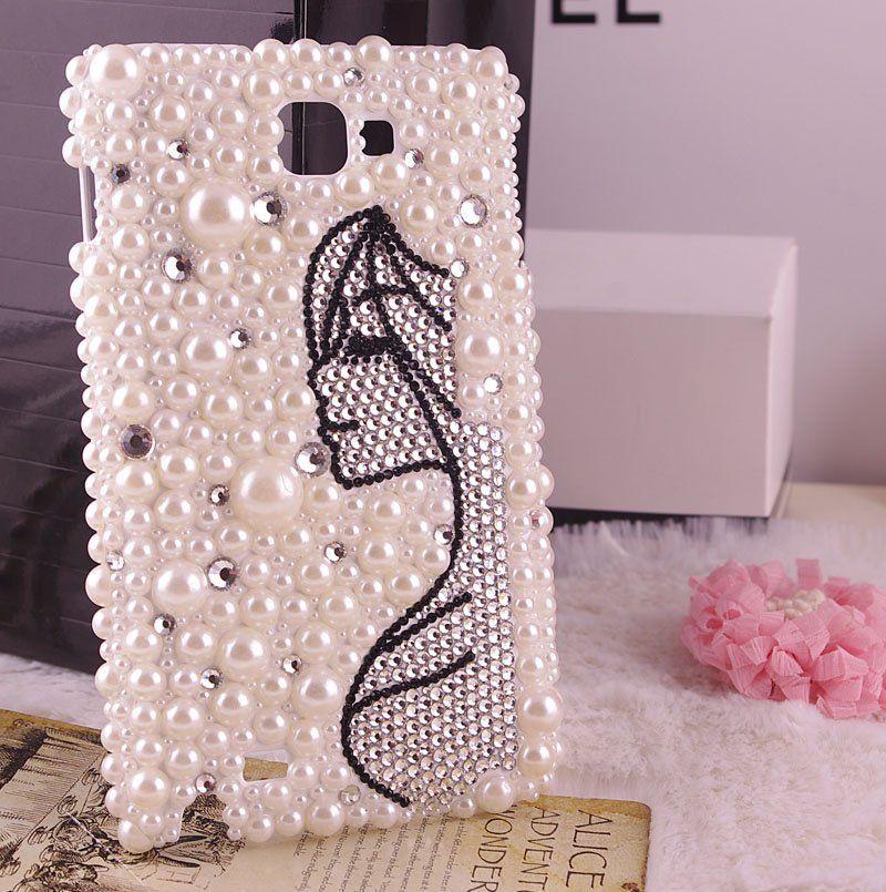 long-hair-girl-bling-phone-cover-for-Samsung- 070953efa5