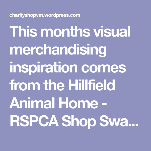 Charity Shop Visual Merchandising & Display Inspiration of